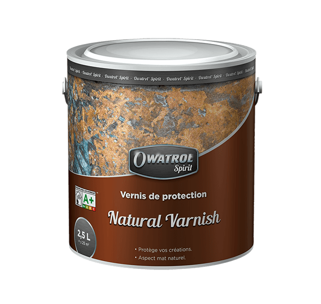 Barniz Mate Natural Varnish