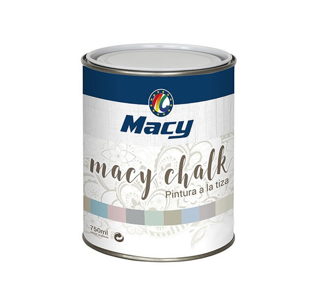 Chalk Paint Metalizado Plata