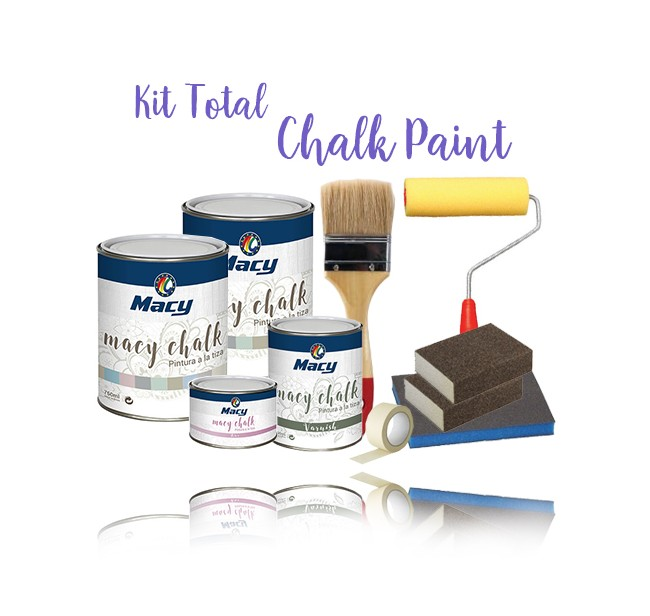 Kit Total Pintura Chalk Paint