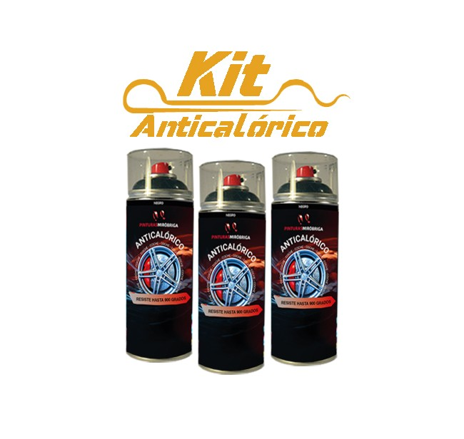 Kit Anticalórico Spray Alta Temperatura Mirobriga