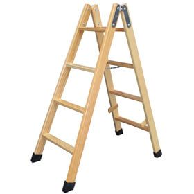Escaleras de madera para pintar compra online en oferta for Escaleras de madera para pintor precios