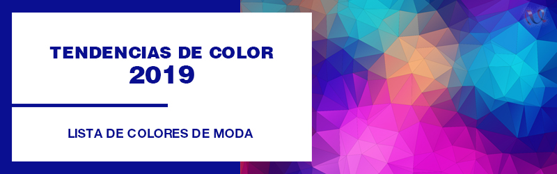 colores de moda 2019 tendencias
