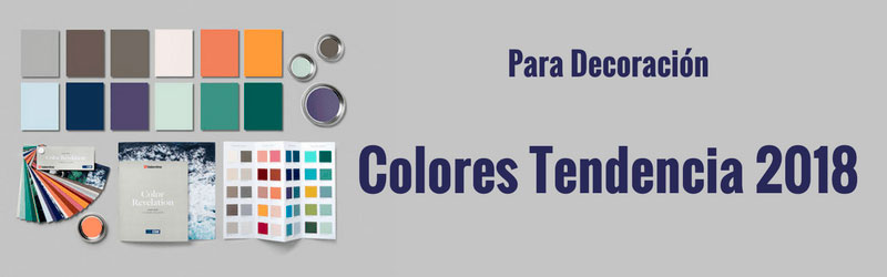 Los 12 colores que marcar n tendencia en 2018 en decoraci n for Colores de pintura de moda