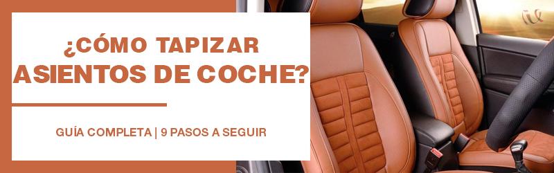 tapizar asientos coche