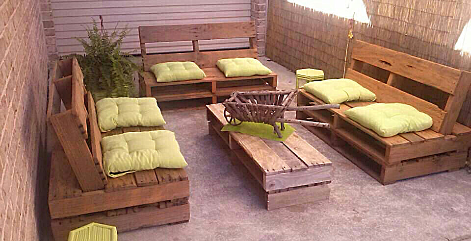 diseño muebles palet