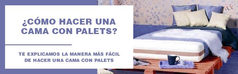 como hacer cama palets