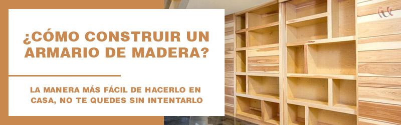 construir armario de madera