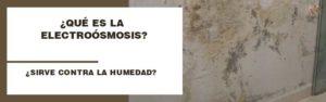 electroosmosis-humedad