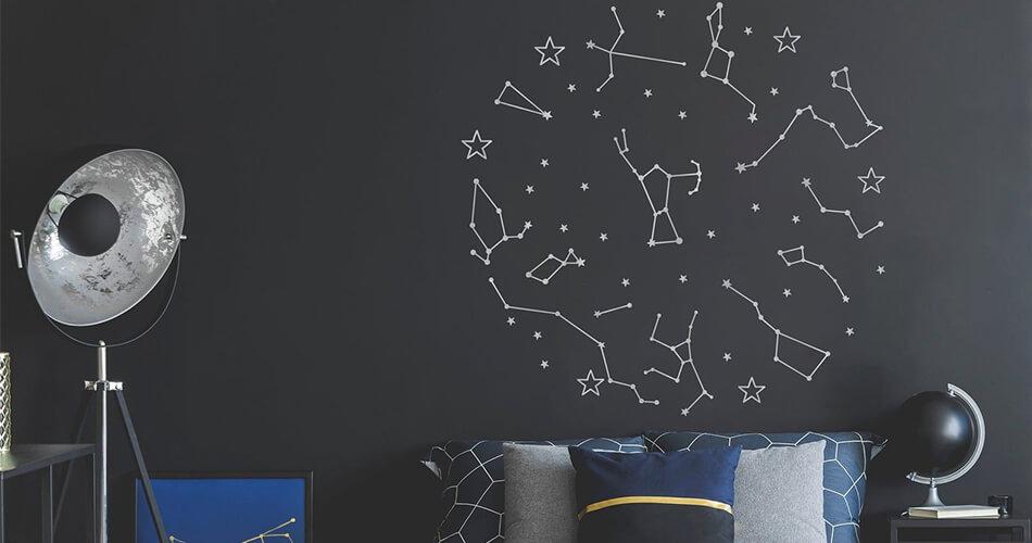 constelacion vinolo decorativo habitacion
