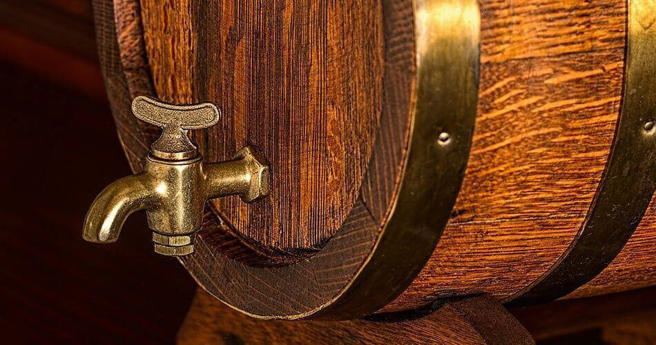 grifo de laton barril
