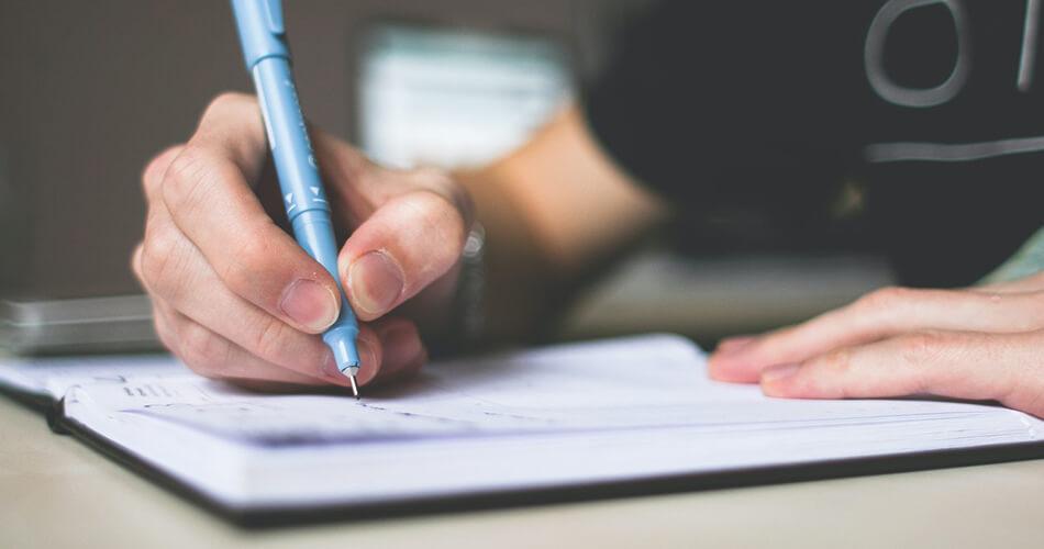 inventario lista mano escribir