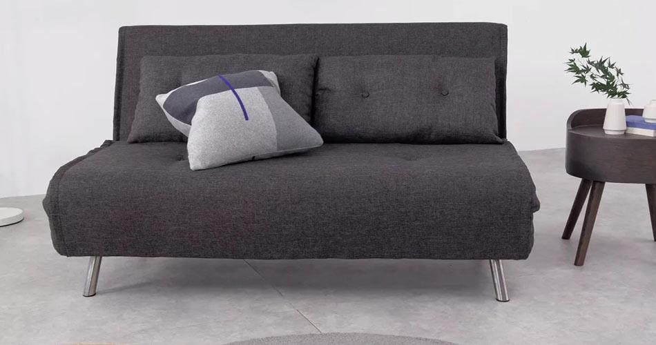 sofa cama gris moderno
