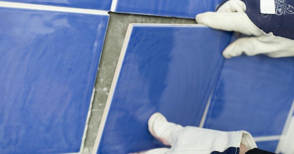 azulejo roto reparacion sustitucion