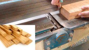 Como cepillar madera con cepillo de banco