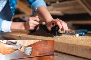 Como cepillar madera correctamente