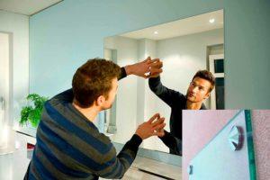 Como colgar un espejo correctamente