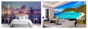 Comprar Murales de vistas de ciudades, pueblos, playas y paraisos