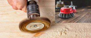 Materiales y herramientas para cepillar madera