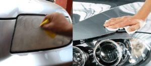 Metodos de Limpieza de faros