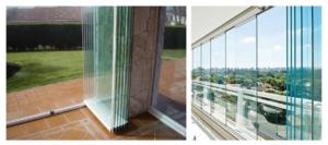 Que son las cortinas de cristal