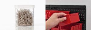 Realiza un tablero con vasos plasticos