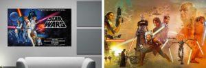 Tipos de Fotomurales Star Wars que vas a encontrar en nuestra tienda online
