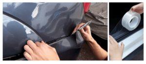 elige un adhesivo y prepara el material