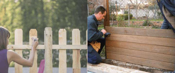 construir valla de parcela